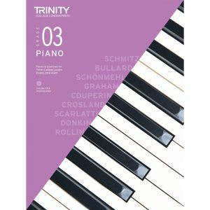 Trinity Piano Grade 3 2018-2020 with CD