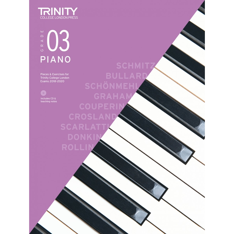 Trinity Piano Grade 3 2018-2020 with CD