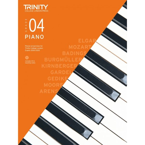 Trinity Piano Grade 4 2018-2020 with CD