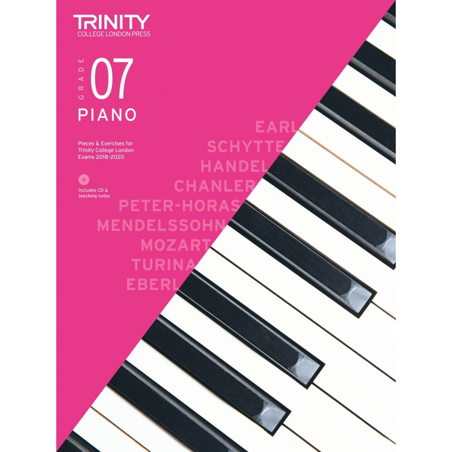 Trinity Piano Grade 7 2018-2020 with CD