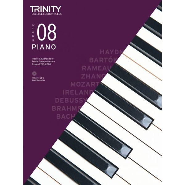 Trinity Piano Grade 8 2018-2020 with CD