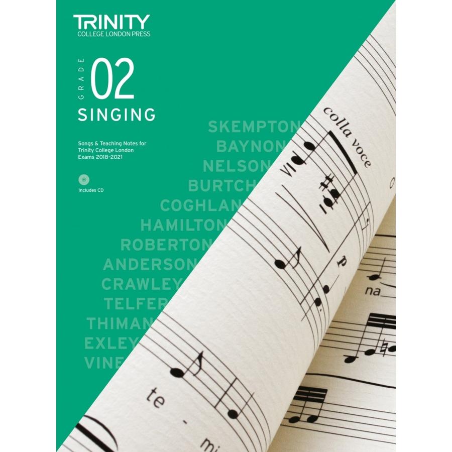 Trinity Singing Grade 2 from 2018
