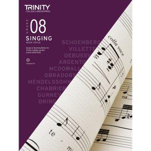 Trinity Singing Grade 8 from 2018