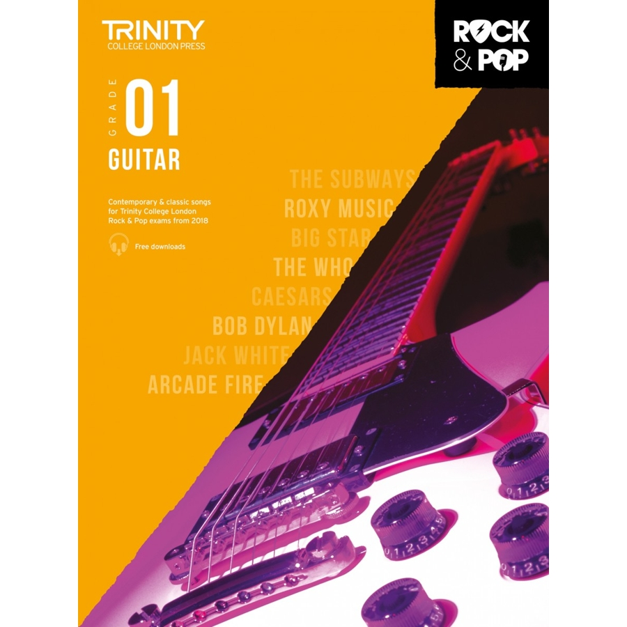 Trinity Rock & Pop 2018 Guitar Grade 1