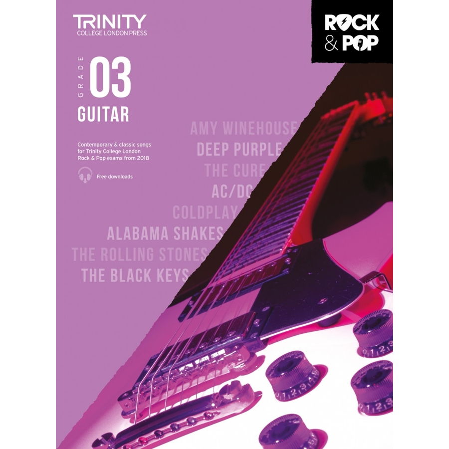 Trinity Rock & Pop 2018 Guitar Grade 3
