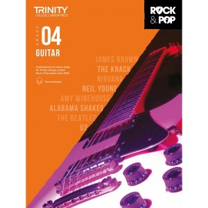 Trinity Rock & Pop 2018 Guitar Grade 4
