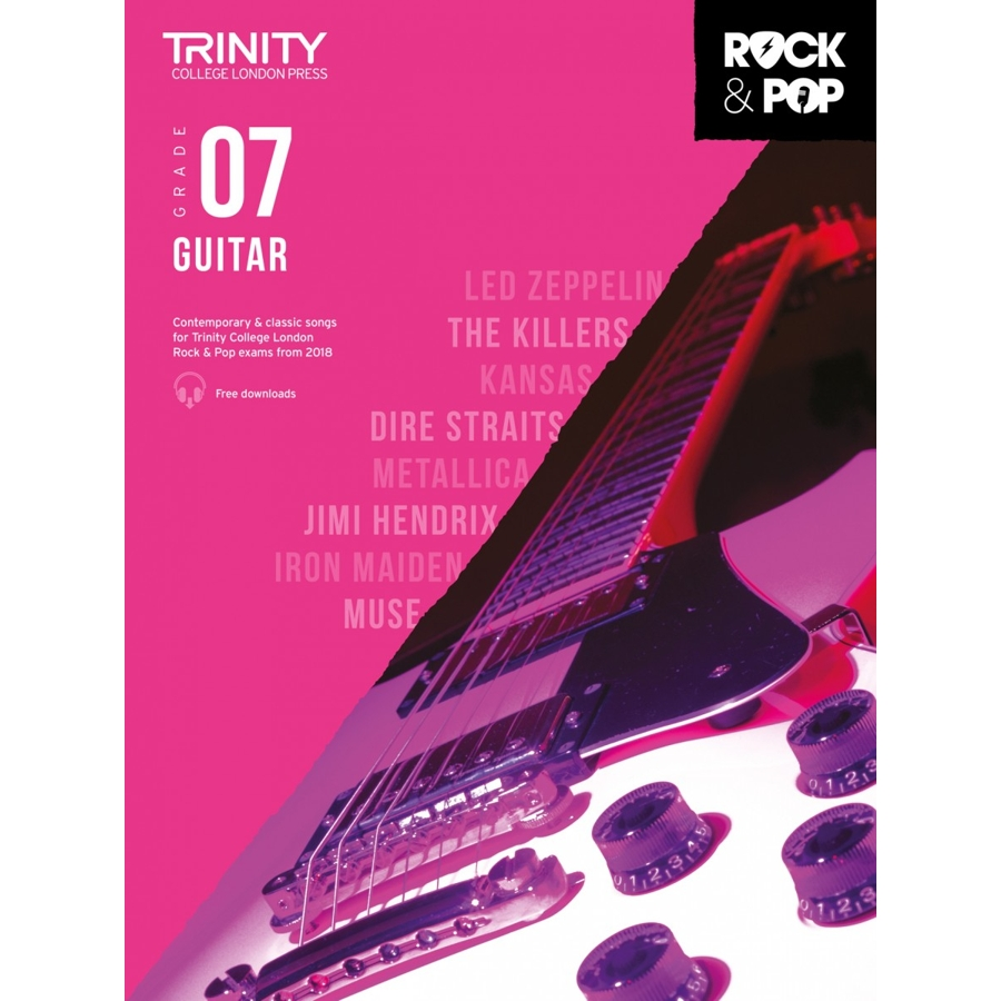 Trinity Rock & Pop 2018 Guitar Grade 7