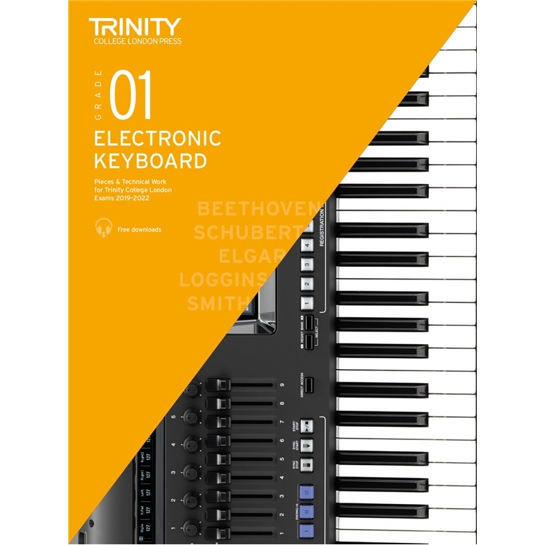 Trinity Electronic Keyboard 2019-2022 Grade 1