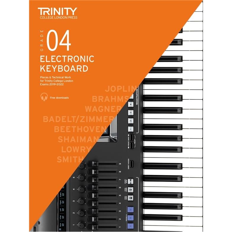 Trinity Electronic Keyboard 2019-2022 Grade 4