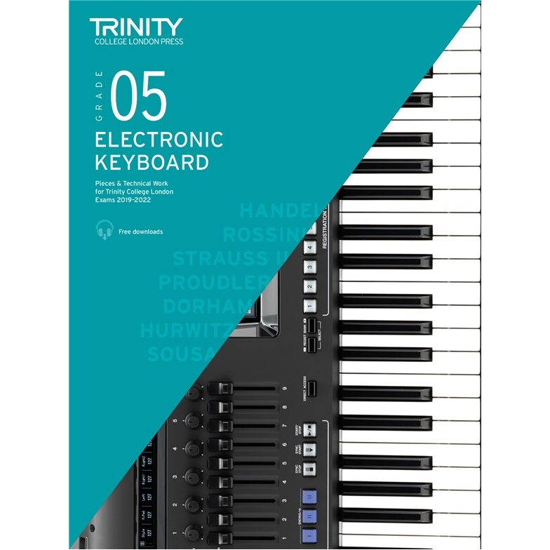 Trinity Electronic Keyboard 2019-2022 Grade 5