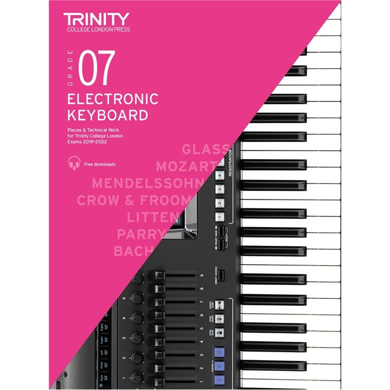 Trinity Electronic Keyboard 2019-2022 Grade 7