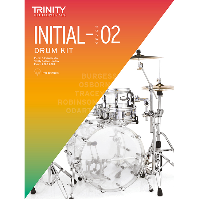 Trinity Drum Kit 2020-2023 Initial-Grade 2