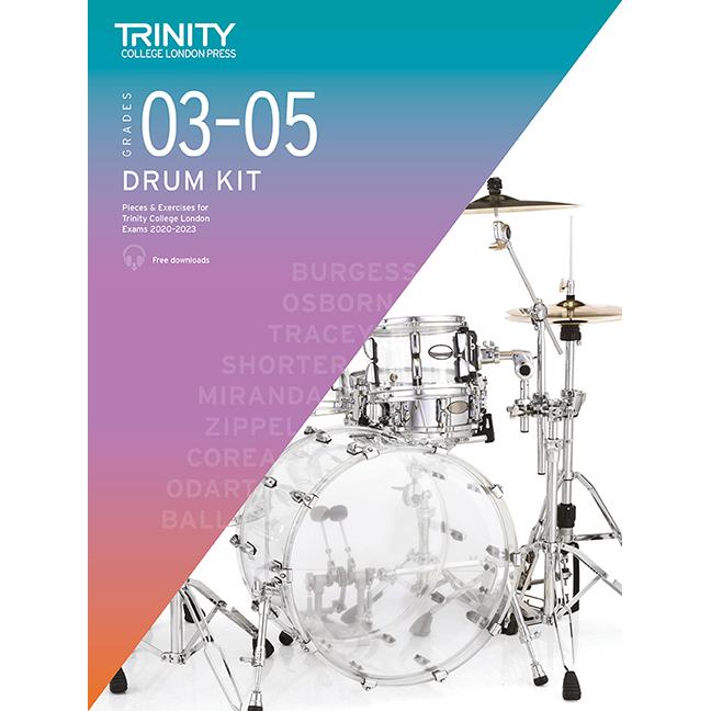 Trinity Drum Kit 2020-2023 Grades 3-5