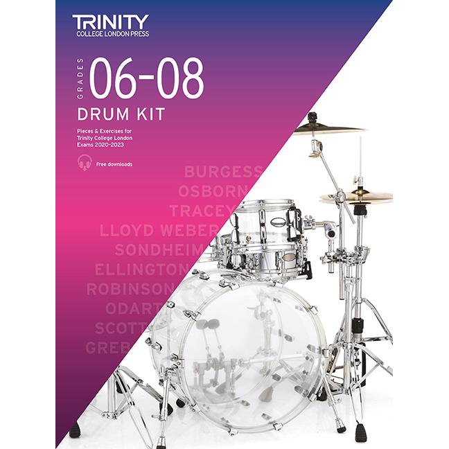 Trinity Drum Kit 2020-2023 Grades 6-8