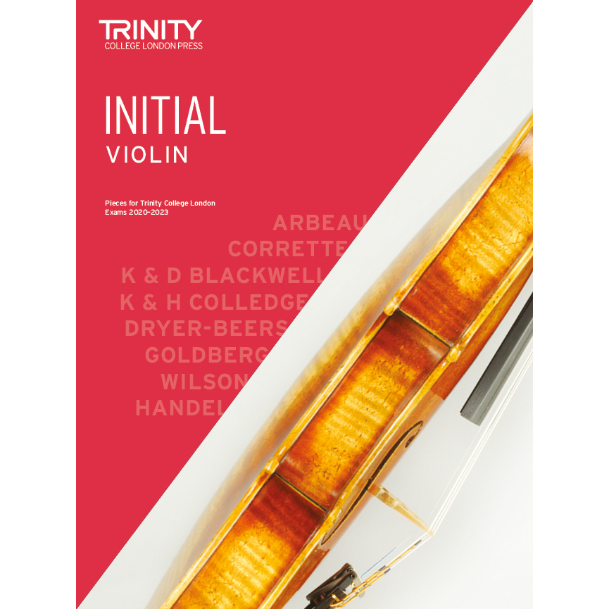 Trinity Violin Initial Exam Pieces 2020-2023