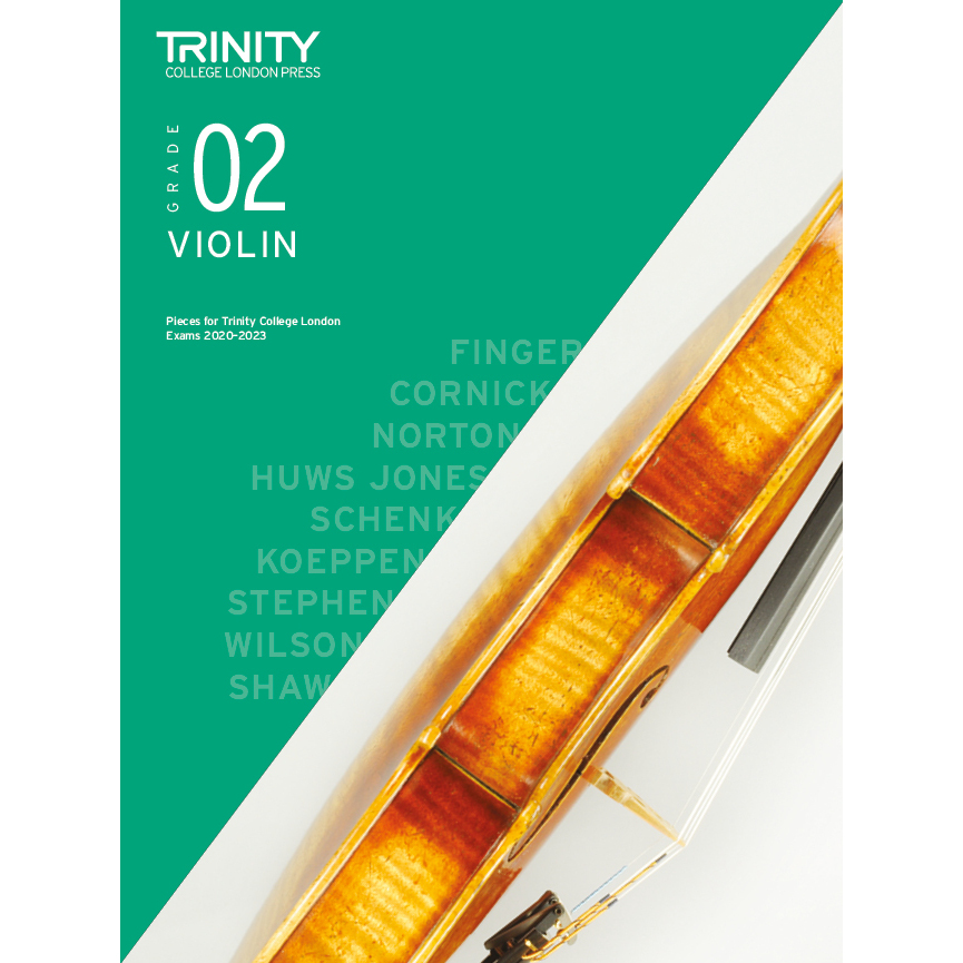 Trinity Violin Grade 2 Exam Pieces 2020-2023