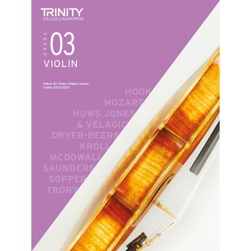 Trinity Violin Grade 3 Exam Pieces 2020-2023