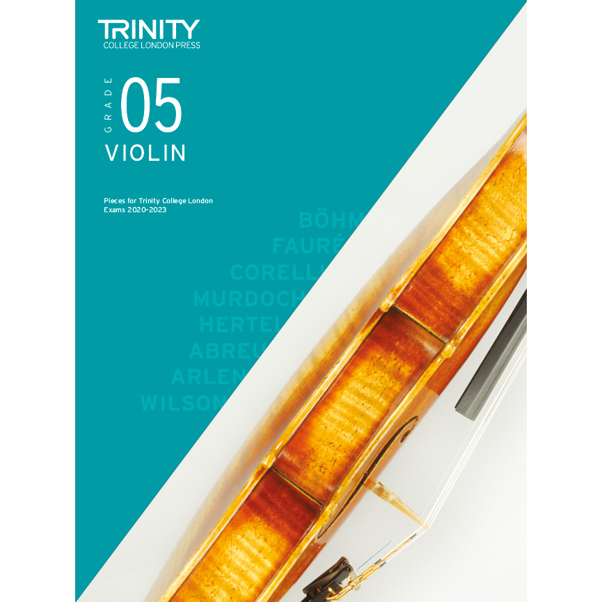 Trinity Violin Grade 5 Exam Pieces 2020-2023