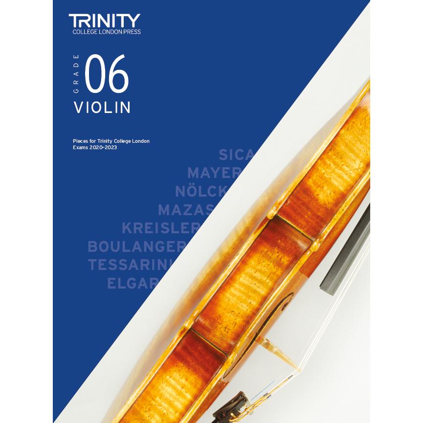 Trinity Violin Grade 6 Exam Pieces 2020-2023