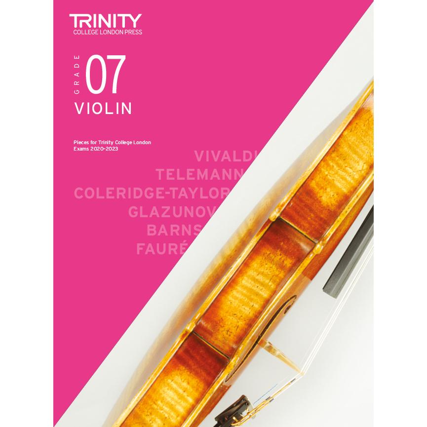 Trinity Violin Grade 7 Exam Pieces 2020-2023