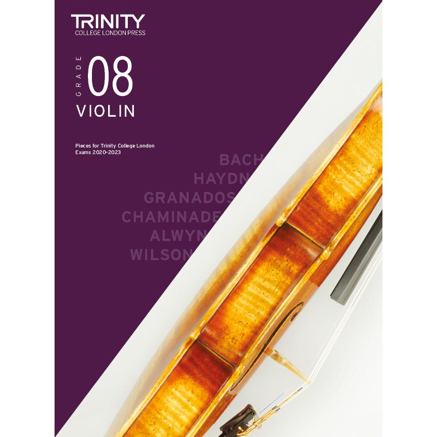 Trinity Violin Grade 8 Exam Pieces 2020-2023