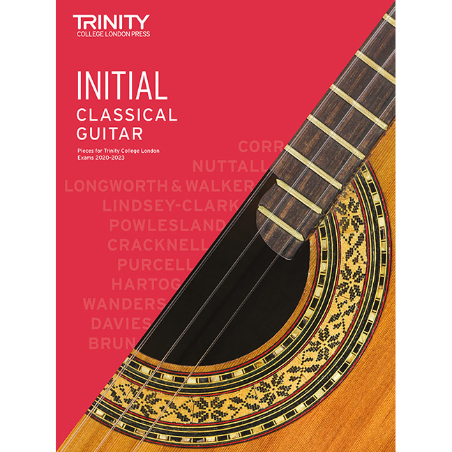 Trinity Classical Guitar 2020-2023 Initial
