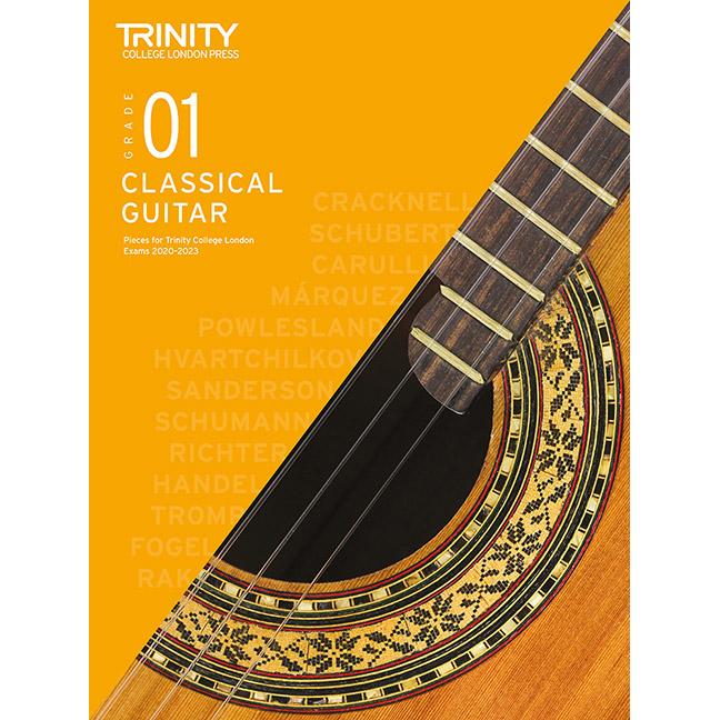 Trinity Classical Guitar 2020-2023 Grade 1