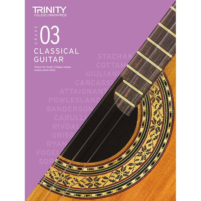 Trinity Classical Guitar 2020-2023 Grade 3