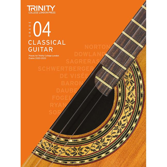 Trinity Classical Guitar 2020-2023 Grade 4