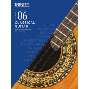 Trinity Classical Guitar 2020-2023 Grade 6