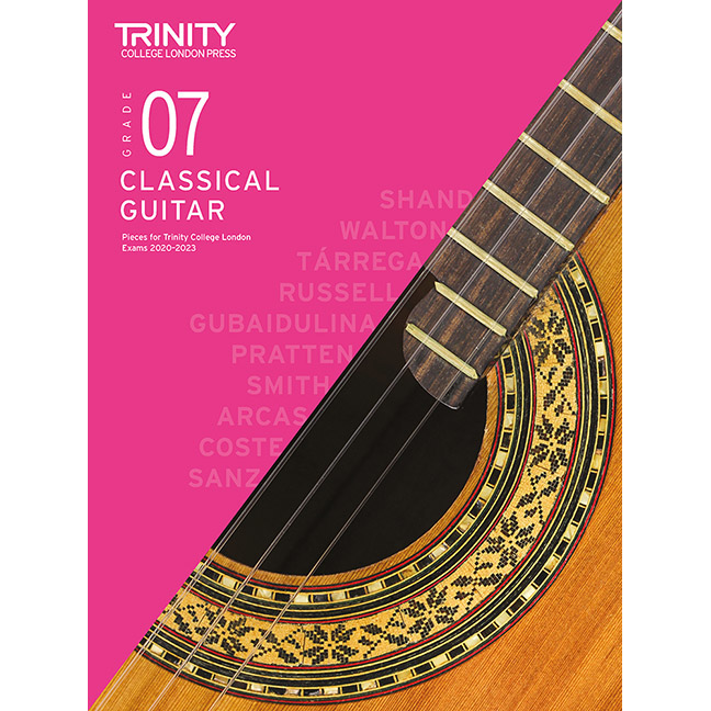 Trinity Classical Guitar 2020-2023 Grade 7