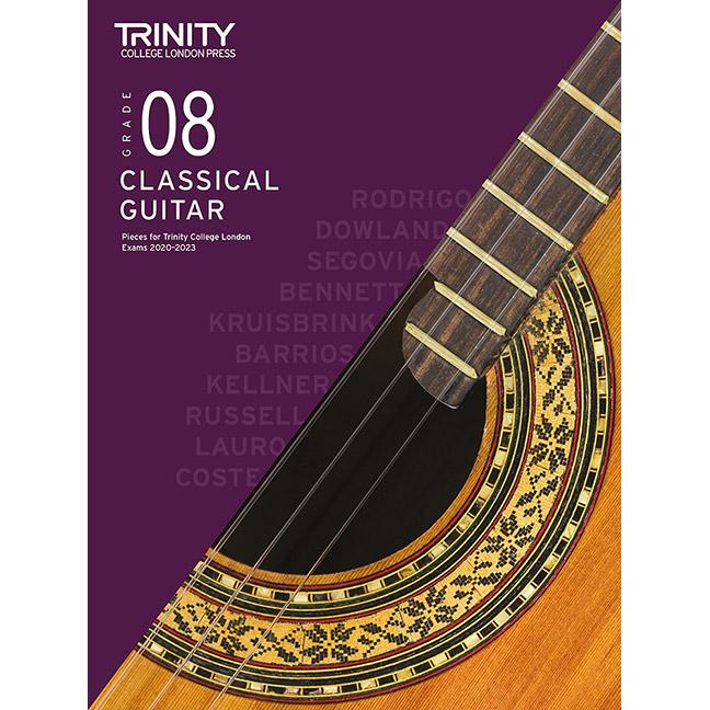 Trinity Classical Guitar 2020-2023 Grade 8