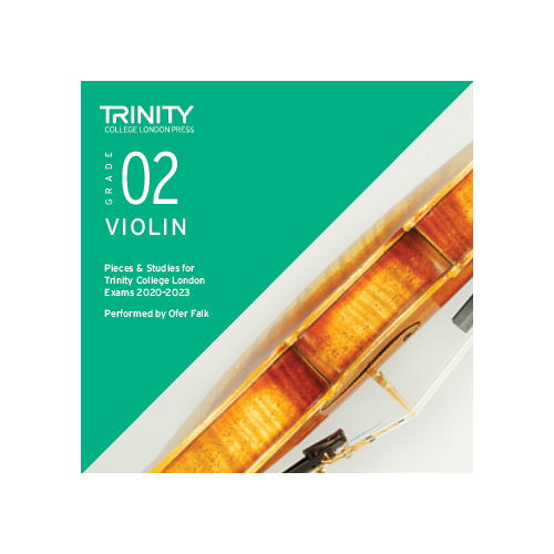 Trinity Violin Grade 2 Exam Pieces 2020-2023 CD