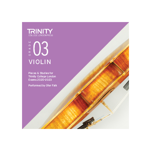 Trinity Violin Grade 3 Exam Pieces 2020-2023 CD