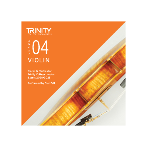 Trinity Violin Grade 4 Exam Pieces 2020-2023 CD