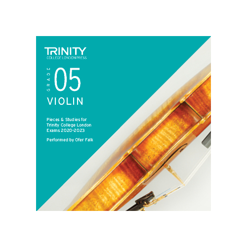 Trinity Violin Grade 5 Exam Pieces 2020-2023 CD
