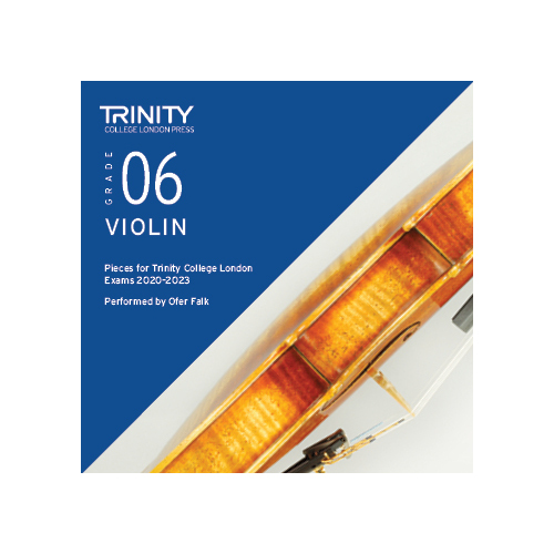 Trinity Violin Grade 6 Exam Pieces 2020-2023 CD