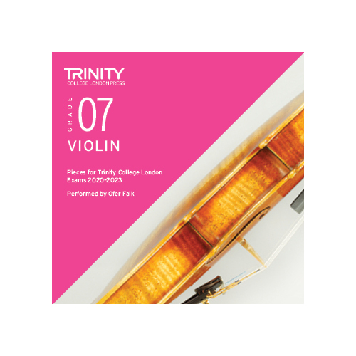 Trinity Violin Grade 7 Exam Pieces 2020-2023 CD