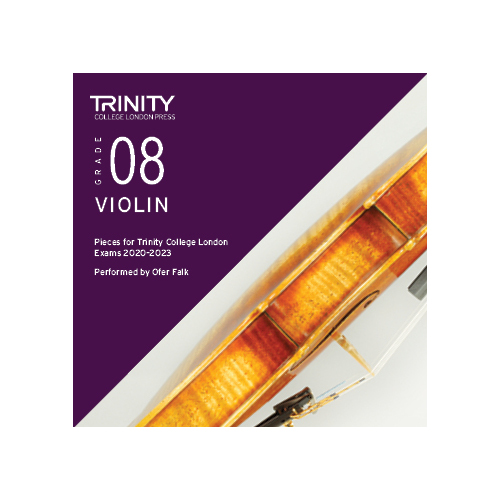 Trinity Violin Grade 8 Exam Pieces 2020-2023 CD