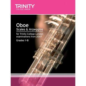 Trinity Oboe Scales and Arpeggios. Grades 1-8