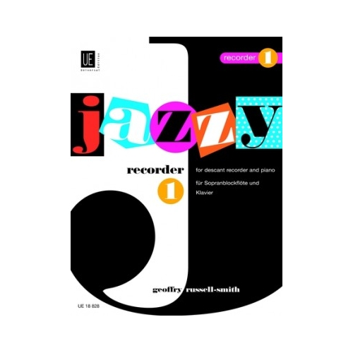 Jazzy Recorder 1 Volume 1