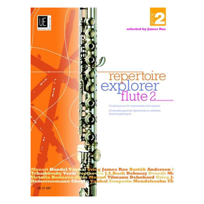 Repertoire Explorer Flute – Book 2