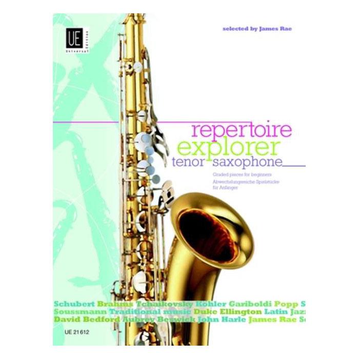 Repertoire Explorer – Tenor Saxophone