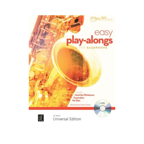 Easy Play-Alongs for Alto Saxophone