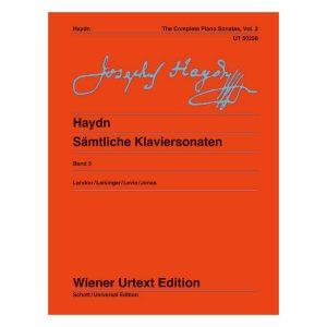 Haydn: Complete Piano Sonatas, Vol. 3