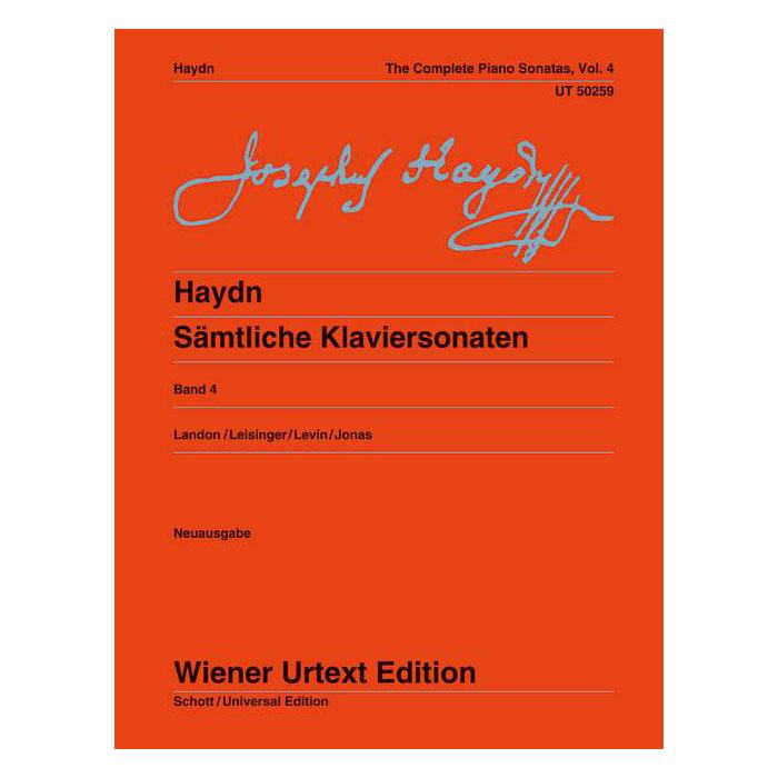 Haydn: Complete Piano Sonatas, Vol. 4