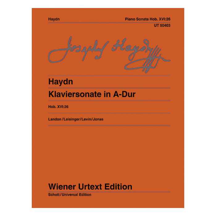 Haydn: Sonata in A, Hob. XVI:26