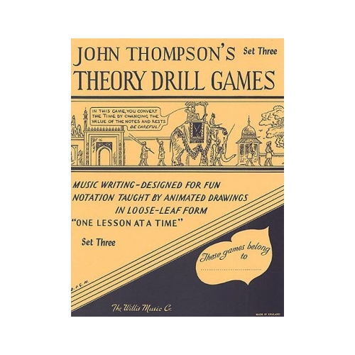 Theory Drill Games Set Three