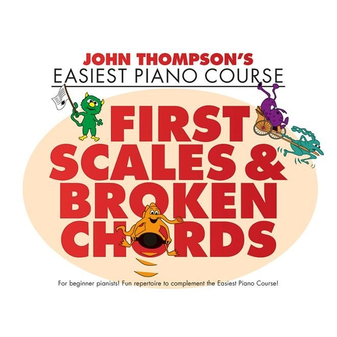 Thompson's Easiest Piano Course: First Scales