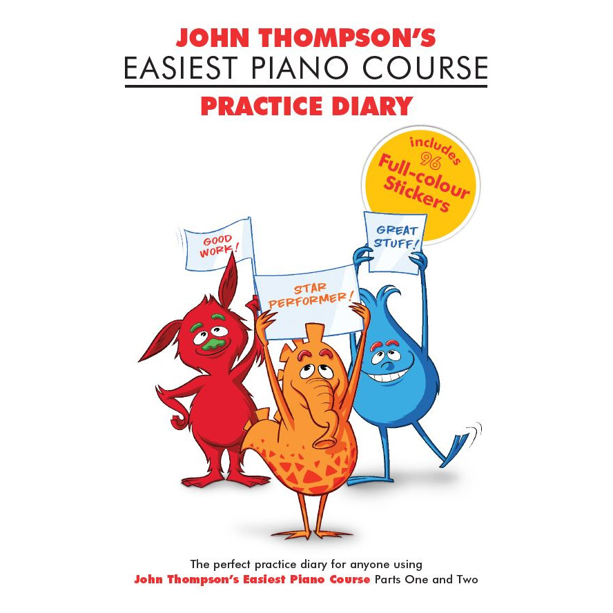 John Thompsons Easiest Piano Course Practice Diary